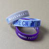 Wide Silicone Wristbands (19mm) Completely Customized image