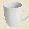Custom logo ceramic mug 8.8x5.5x10.2cm image