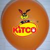 "Custom printed 12"" (30cm) balloon with your logo or design image"