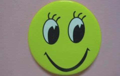 Metal button badge 25mm with custom print image