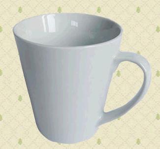 Custom logo ceramic mug 9x6x10cm image