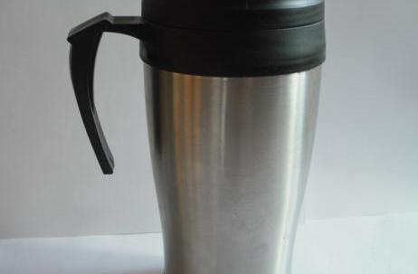Custom logo stainless steel thermo mug 420ml image