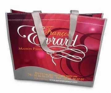 Custom printed PP non-woven bag 50x62x12cm image