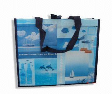 Custom printed PP non-woven bag 62x76x13cm image