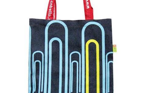 Custom printed PP non-woven bag 36x27x11cm image