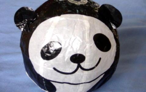 Washi ''Panda'' balloon Ø36cm image
