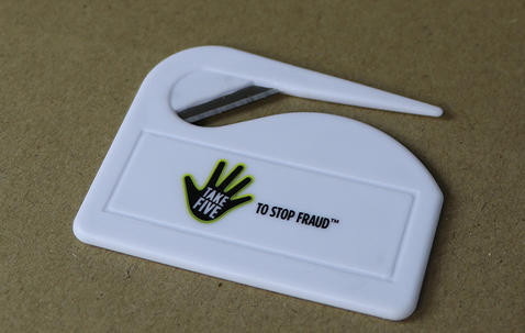 Standard safety knife with your logo image