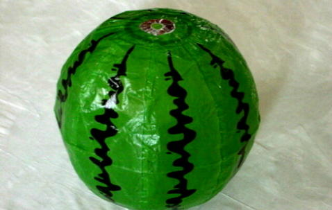 "Washi ""Watermelon"" balloon Ø42cm image"