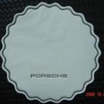 Custom printed / debossed paper coaster 90mm image