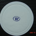 Custom printed / debossed paper coaster 85mm image