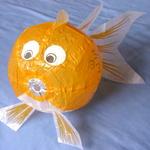 Washi ''Goldfish'' balloon Ø36CM  image