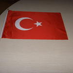 Custom printed car flag 30x45cm  image