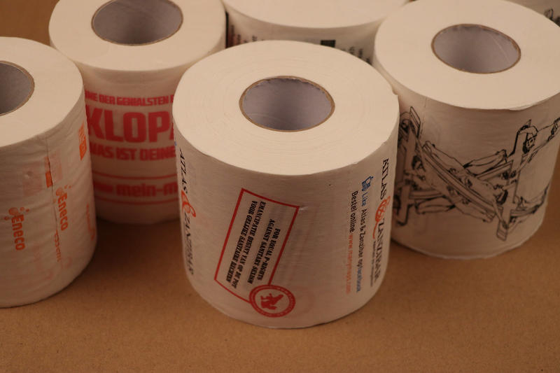 Toilet Paper With Your Custom Print Dinilu Online