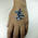 Temporary tattoo 50x50mm with custom print image
